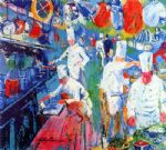la grand cuisine by leroy neiman painting