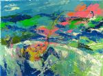 marlin fishing by leroy neiman painting
