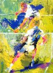 match point by leroy neiman painting