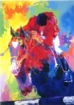 olympic jumper by leroy neiman painting