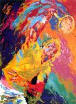 power serve by leroy neiman painting