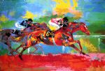 race of the year by leroy neiman painting