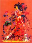 red boxers by leroy neiman painting