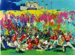 leroy neiman rosebowl ohio state buckeye suite paintings