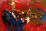 satchmo by leroy neiman painting