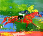secretariat big red by leroy neiman painting