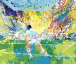 stadium tennis by leroy neiman painting