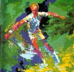 stan smith by leroy neiman painting