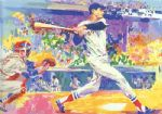 ted williams the splendid splinter by leroy neiman painting