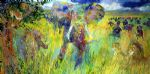 the big five by leroy neiman painting