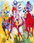 the finish by leroy neiman painting