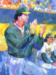 tony larussa manager of the year by leroy neiman painting