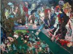 leroy neiman vegas craps paintings