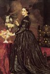 mrs james guthrie by lord frederick leighton painting