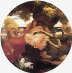 the garden of the hesperides by lord frederick leighton painting