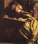 the painter s honeymoon by lord frederick leighton painting