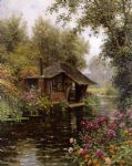 a beaumont le roger by louis aston knight painting