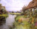 a bend in the river by louis aston knight painting