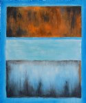 mark rothko no. 61 rust and blue painting
