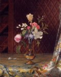 martin johnson heade vase of mixed flowers painting 29461