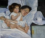 breakfast in bed ii by mary cassatt painting