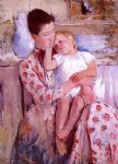 mary cassatt emmie and her child painting