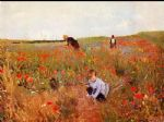 les coquelicots by mary cassatt oil paintings