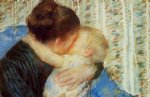 mother and child by mary cassatt painting