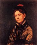 mrs. robert simpson cassatt by mary cassatt painting