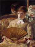 mary cassatt portrait of a lady ii painting 28944