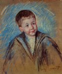 portrait paintings - portrait of master st. pierre study by mary cassatt