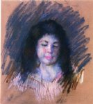 sketch of francoise by mary cassatt painting