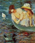 mary cassatt summertime ii painting