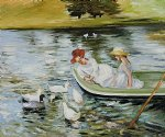 mary cassatt summertime iii painting