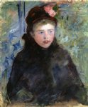 mary cassatt susan in a toque trimmed with two roses painting 29002