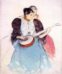 mary cassatt the banjo lesson 1893 painting