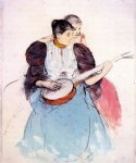 mary cassatt the banjo lesson ii poster