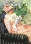 mary cassatt the cup of tea painting
