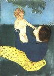 mary cassatt the horse chestnut painting