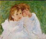 mary cassatt the sisters 1885 painting