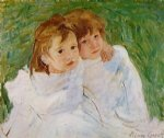 mary cassatt the sisters painting