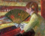 theater by mary cassatt painting