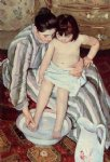 title not available by mary cassatt painting