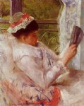 woman reading ii by mary cassatt painting