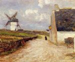 maxime maufra near the mill painting