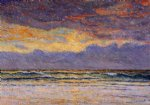maxime maufra sunset margat painting