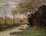 maxime maufra the auray river spring painting