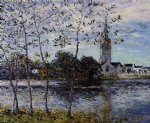 maxime maufra the banks of the pond at rosporden finistere painting