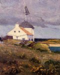 the signal tower by maxime maufra painting