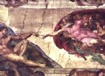 creation of adam detail by michelangelo buonarroti